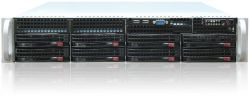 server supermicro 2u cse-825tq-2 2x 740w x10drl 2x e5-2630v4 128gb